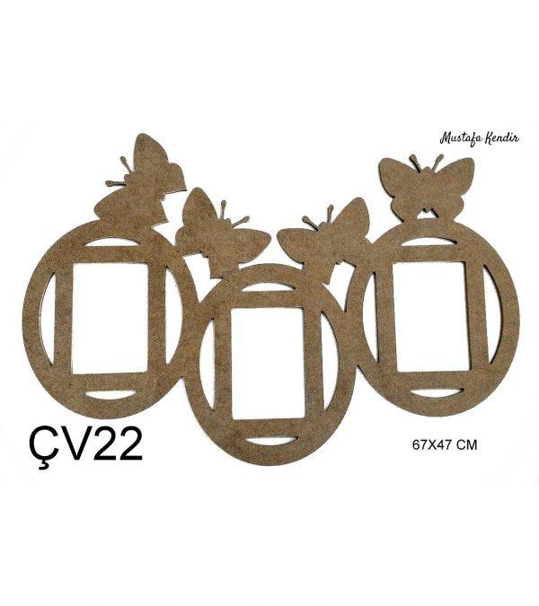 ÇV22 Kelebek Çerçeve