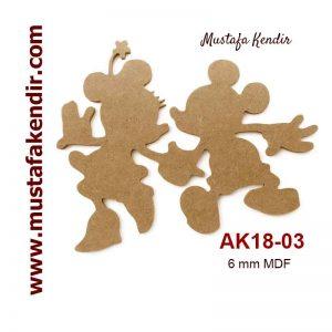 AK18-03 Miki Mini Mouse
