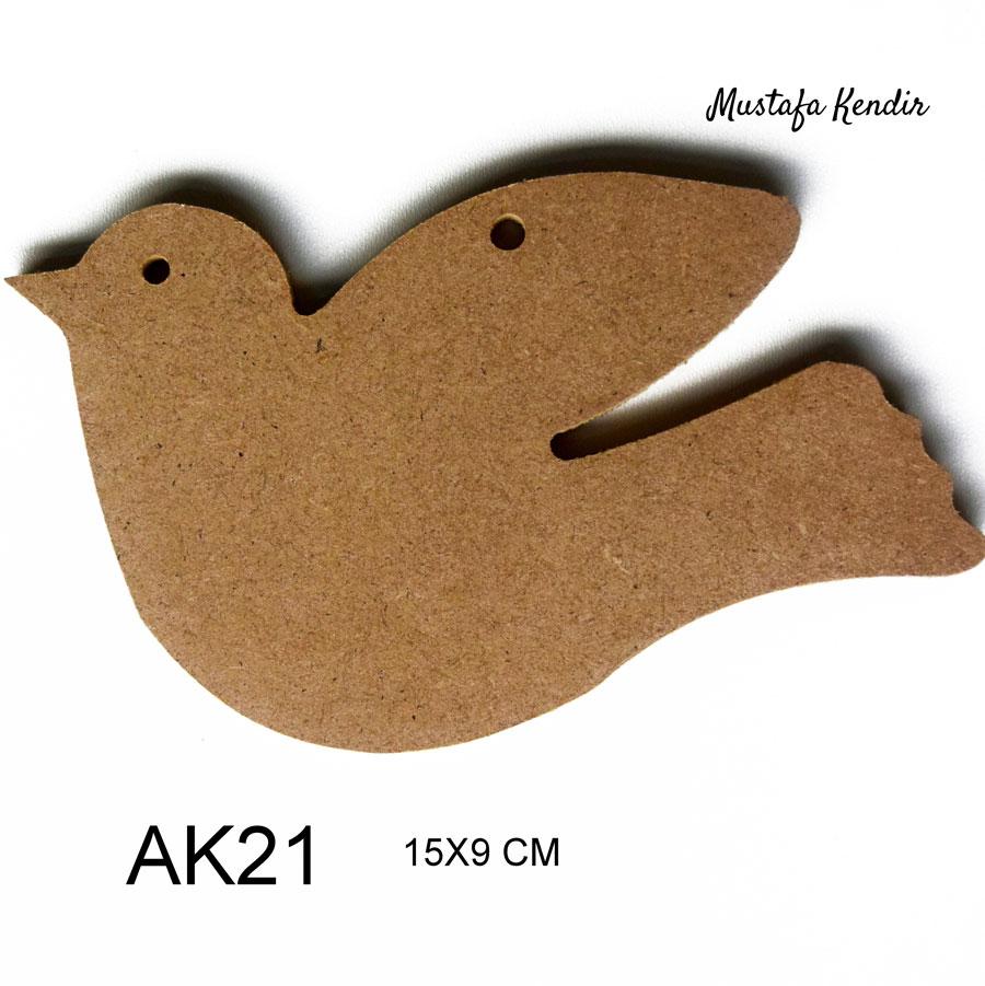 Miki Mouse Ebat17x13 Cm Malzeme6 Mm Mdf Mustafa Kendir
