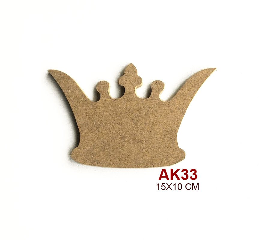 Kraliçe Tacı Ebat15x10 Cm Malzeme6 Mm Mdf Mustafa Kendir