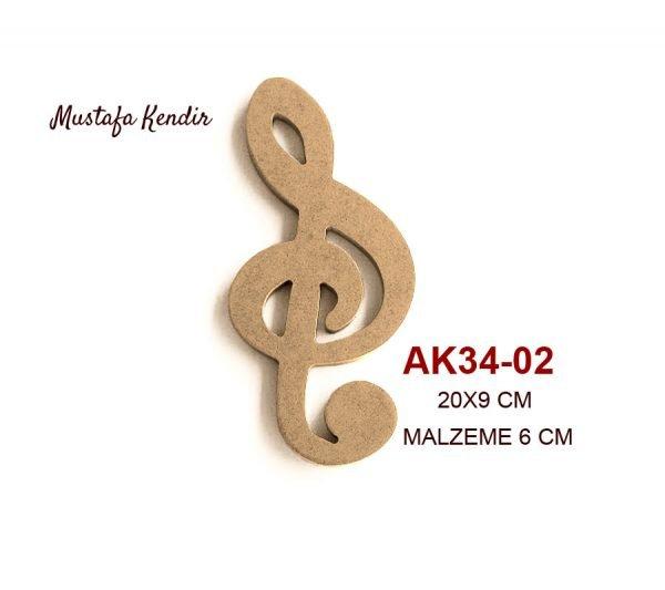 AK34-02 Sol Anahtarı