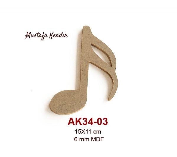 AK34-03 Nota