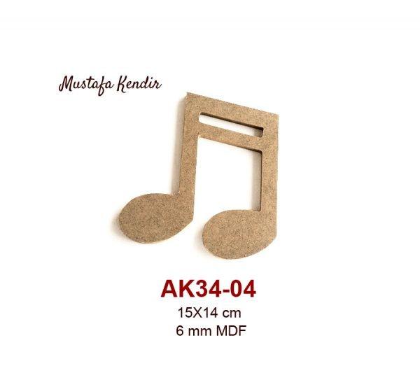 AK34-04 Nota