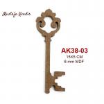 AK38-03 Anahtar 1