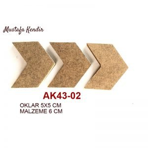 AK43-02 ÜÇLÜ OK 2
