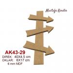 AK43-29-YÖN-OKLARI