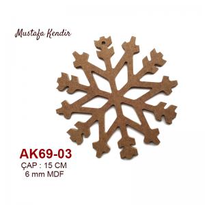 AK69-03 Kar Tanesi 4