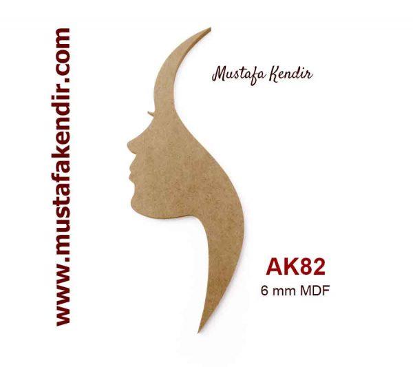 AK82 Yüz Silüeti