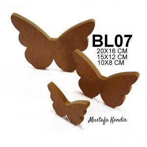 BL07 Üçlü Kelebek 4