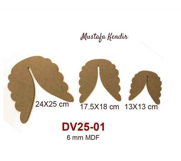 DV25-01 Üçlü Melek Kanadı
