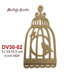 DV30-02 Kafes Anahtarlık