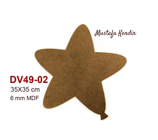 DV49-02 Yıldız Balon