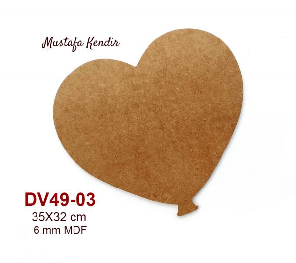 Dv49 03 Kalp Balon Mustafa Kendir
