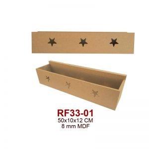 RF33-01 Yıldızlı Kutu Raf