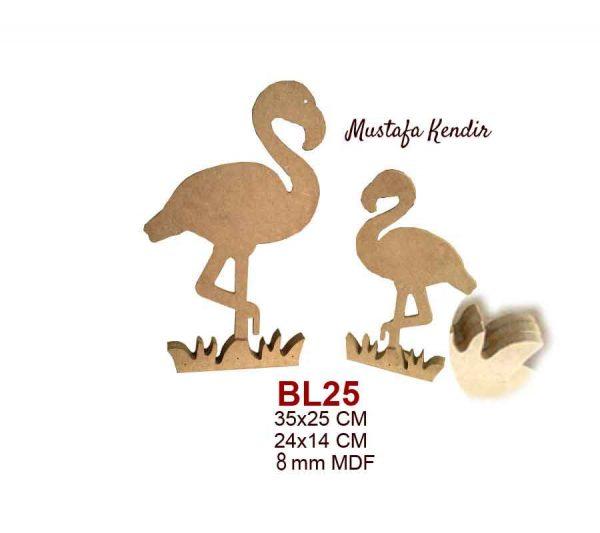 BL25 Flamingo İkili Set
