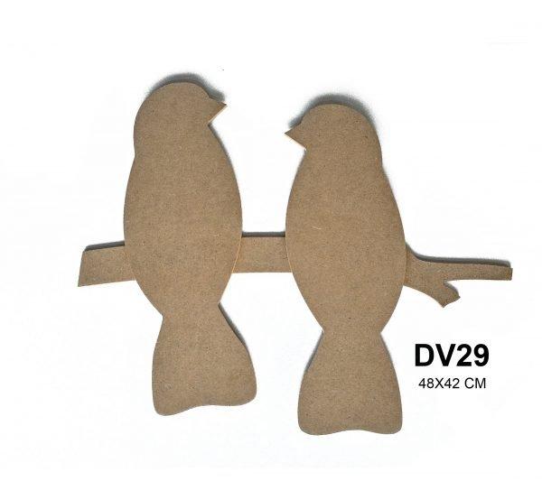 DV29 Çift Kuşlu Pano