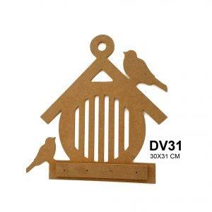 DV31 Kulübe Anahtarlık
