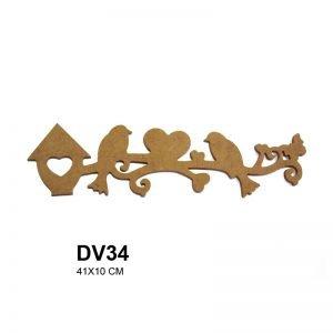DV34 Duvar Süsü