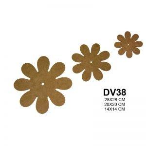 DV38 Üçlü Çiçek Seti