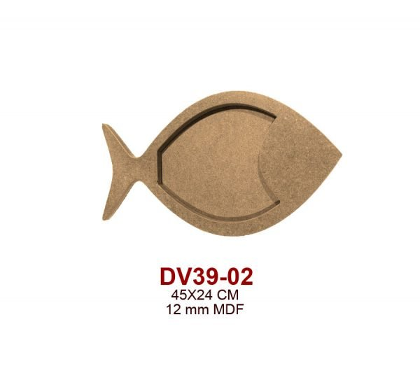 DV39-02 Balık Pano