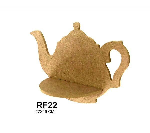 Rf22 çaydanlık Raf Ebat27x19 Cm Malzeme6 Mm Mdf