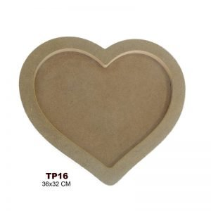 TP16 Kalp Tepsi