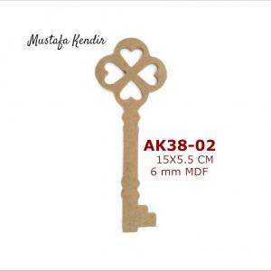 AK38-02 Anahtar 3
