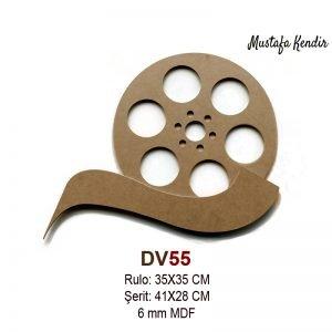 DV55 Film Rulosu