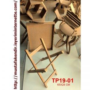 TP19-01 Şımarık Tepsi Ayağı