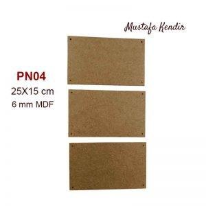 PN04 Üçlü Pano
