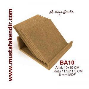 BA10 Bardak Altlığı
