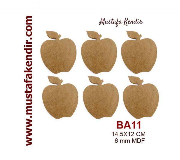 BA11 Elma Bardak Altlığı