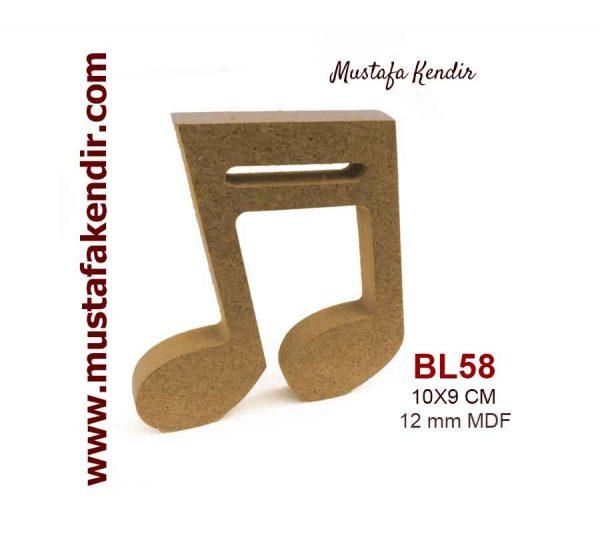 BL58 Nota