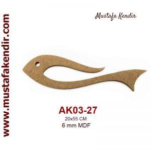 AK03-27 Balık