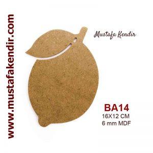 BA14 Limon Bardak Altlığı