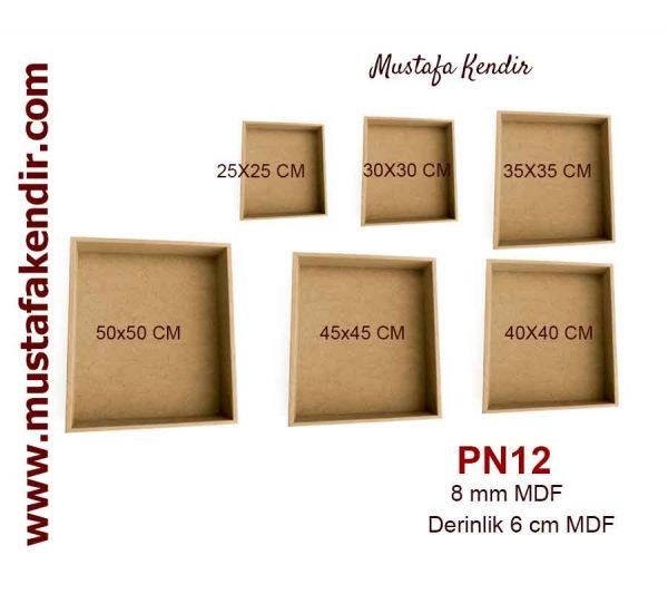 PN12 Kutu Panolar