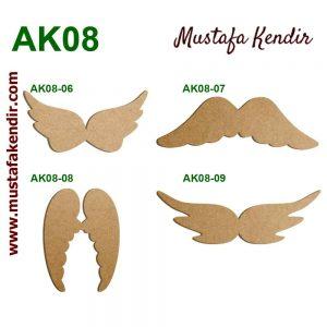 AK08 Melek Kanatları 8