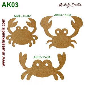 AK03-15 Yengeçler 1 8