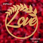 DV74-07-Love-Çerçeve