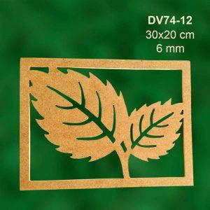 Yapraklı Çerçeve DV74-12 4