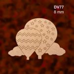 Yapraklı Çerçev Pano DV74-10 2