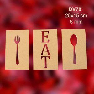 Eat Duvar Panosu DV78 1