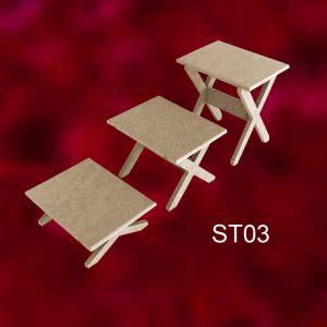 Servis Tabağı Standı ST03 2