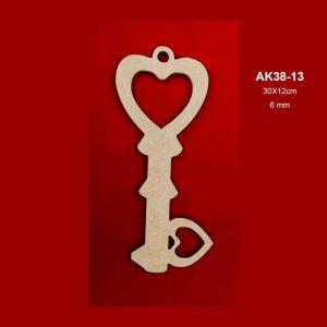 Ahşap Anahtar AK38-13