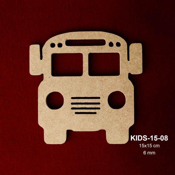 Ahşap Otobüs KIDS15-08