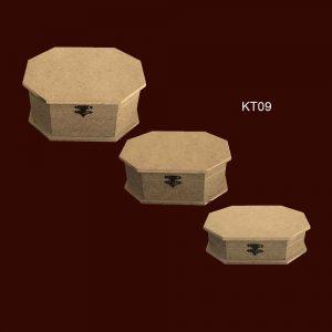 Ahşap Kutu 8 Koşe