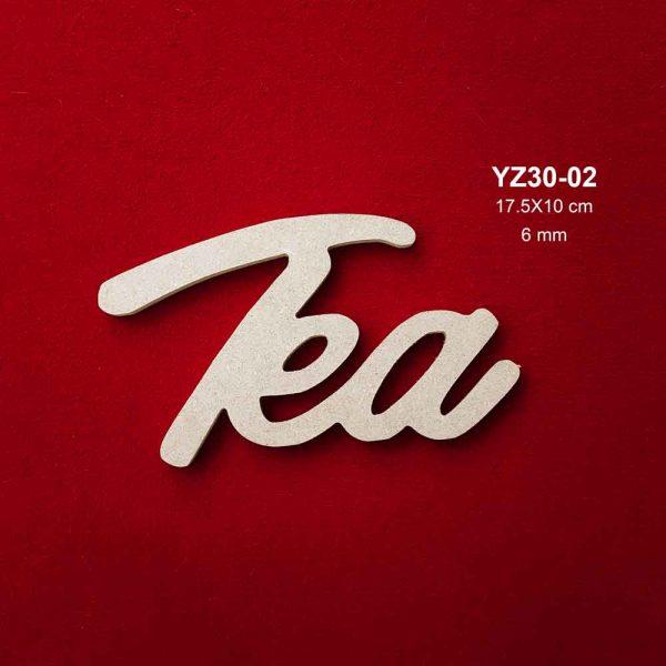 Ahşap Eat Yazısı YZ70-02