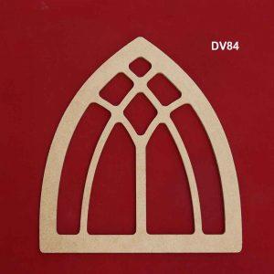 Ahşap Dekoratif Pencere DV84 1