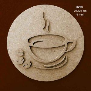 Ahşap Kahve Fincanı DV93