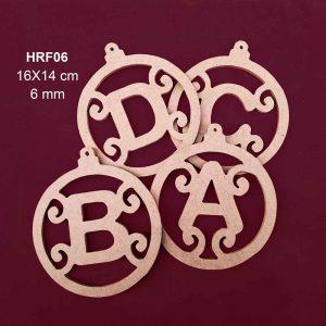 Ahşap Süsleme Harfleri HRF06 4